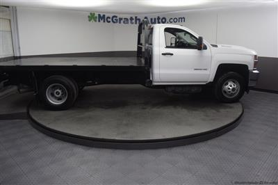 2018 Silverado 3500 Regular Cab DRW 4x4,  Knapheide PGNB Gooseneck Platform Body #C181740 - photo 29