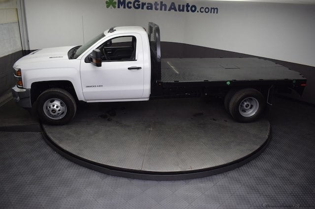 2018 Silverado 3500 Regular Cab DRW 4x4,  Knapheide Platform Body #C181743 - photo 22