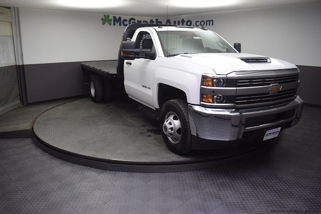 2018 Silverado 3500 Regular Cab DRW 4x4,  Knapheide Platform Body #C181743 - photo 27