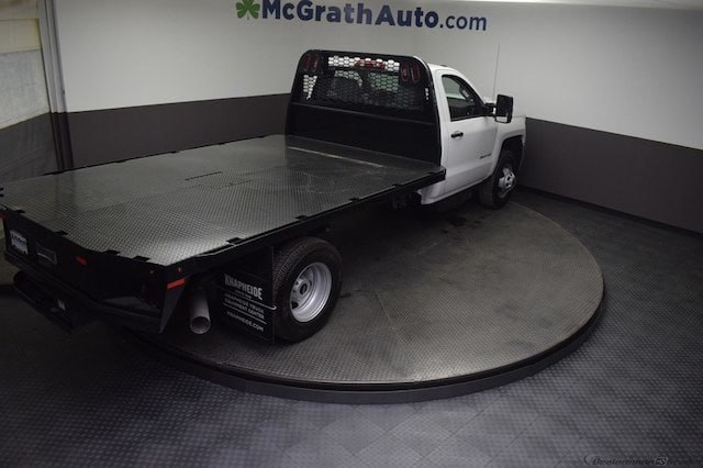 2018 Silverado 3500 Regular Cab DRW 4x4,  Knapheide Platform Body #C181743 - photo 31