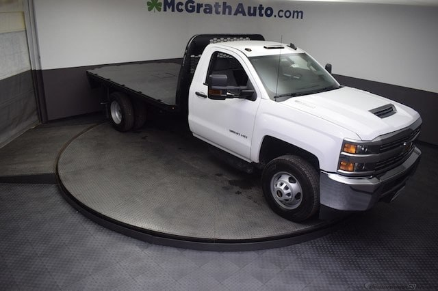 2018 Silverado 3500 Regular Cab DRW 4x4,  Knapheide Platform Body #C181743 - photo 33