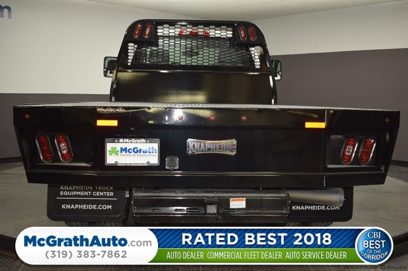 2018 Silverado 3500 Regular Cab DRW 4x4,  Knapheide PGNB Gooseneck Platform Body #C181743 - photo 1