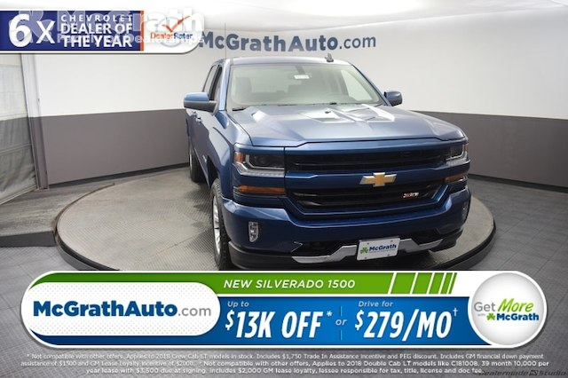 2018 Silverado 1500 Double Cab 4x4,  Pickup #C181745 - photo 1