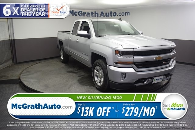 2018 Silverado 1500 Double Cab 4x4,  Pickup #C181749 - photo 1