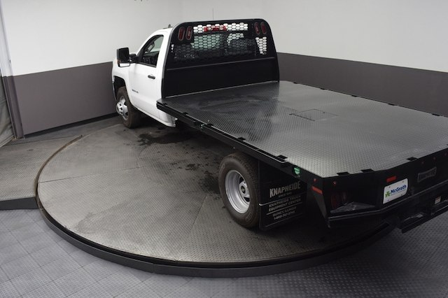2018 Silverado 3500 Regular Cab DRW 4x4,  Knapheide Platform Body #C181788 - photo 18
