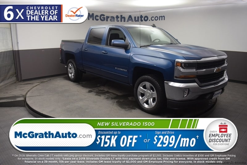 2018 Silverado 1500 Crew Cab 4x4,  Pickup #C182198 - photo 30