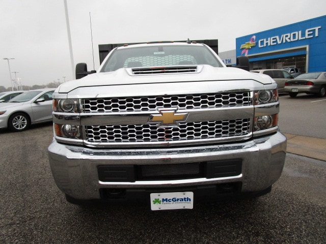 2019 Silverado 3500 Regular Cab DRW 4x4,  Knapheide Platform Body #C190201 - photo 3