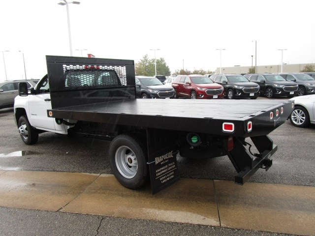 2019 Silverado 3500 Regular Cab DRW 4x4,  Knapheide Platform Body #C190201 - photo 8