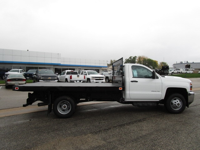 2019 Silverado 3500 Regular Cab DRW 4x4,  Knapheide Platform Body #C190201 - photo 10