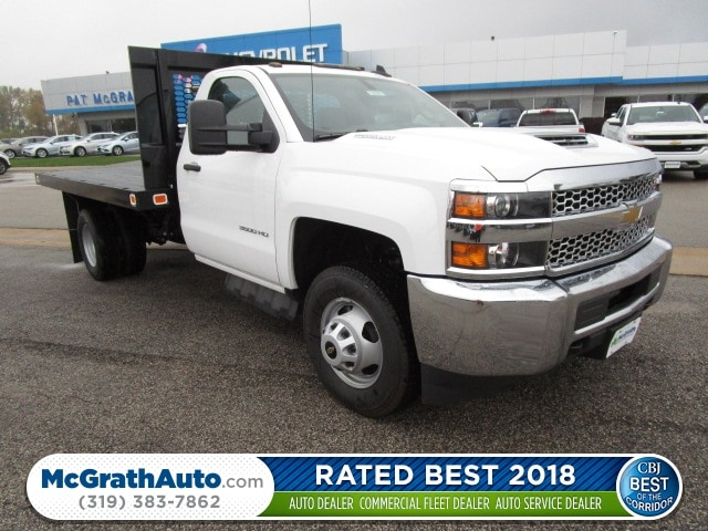 2019 Silverado 3500 Regular Cab DRW 4x4,  Knapheide Value-Master X Platform Body #C190201 - photo 1