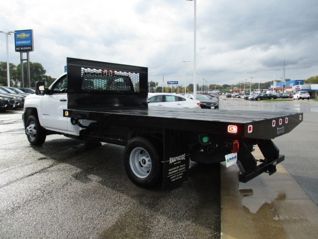 2019 Silverado 3500 Regular Cab DRW 4x4,  Knapheide Platform Body #C190206 - photo 10