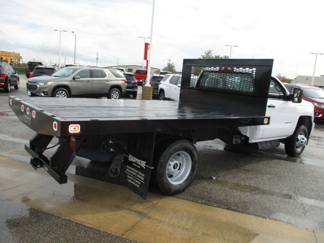 2019 Silverado 3500 Regular Cab DRW 4x4,  Knapheide Platform Body #C190206 - photo 2