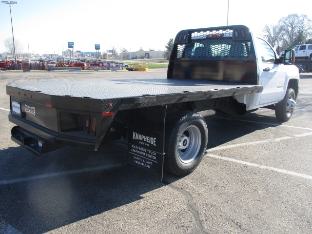 2019 Silverado 3500 Regular Cab DRW 4x4,  Knapheide Platform Body #C190475 - photo 2