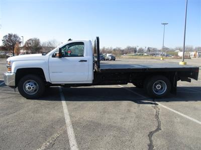 2019 Silverado 3500 Regular Cab DRW 4x4,  Platform Body #C190475 - photo 7