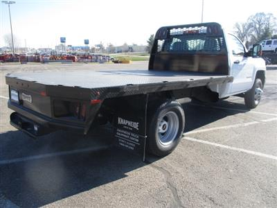 2019 Silverado 3500 Regular Cab DRW 4x4,  Platform Body #C190475 - photo 2