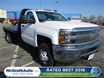 2019 Silverado 3500 Regular Cab DRW 4x4,  Knapheide Platform Body #C190475 - photo 1