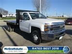 2019 Silverado 3500 Regular Cab DRW 4x4,  Knapheide Platform Body #C190507 - photo 1