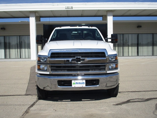 2019 Chevrolet Silverado 4500 Regular Cab DRW RWD, Link Hydraulic, Inc. Stake Bed #C191231 - photo 4