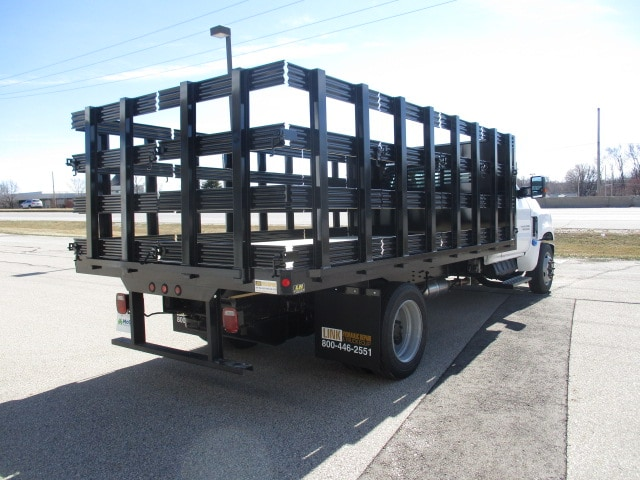 2019 Chevrolet Silverado 4500 Regular Cab DRW RWD, Link Hydraulic, Inc. Stake Bed #C191231 - photo 2