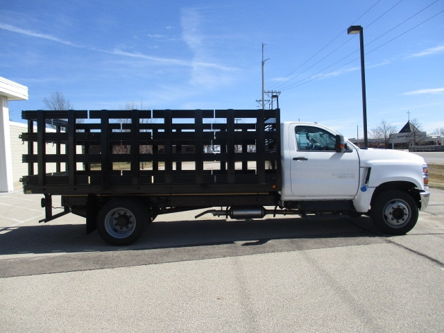 2019 Chevrolet Silverado 4500 Regular Cab DRW RWD, Link Hydraulic, Inc. Stake Bed #C191231 - photo 8