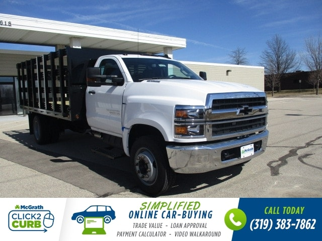 2019 Chevrolet Silverado 4500 Regular Cab DRW RWD, Link Hydraulic, Inc. Stake Bed #C191231 - photo 1