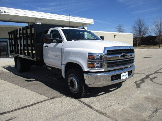 2019 Silverado Medium Duty Regular Cab DRW 4x2, Cab Chassis #C191231 - photo 1