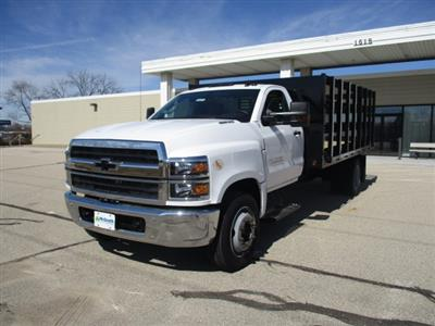 2019 Chevrolet Silverado 4500 Regular Cab DRW RWD, Link Hydraulic, Inc. Stake Bed #C191231 - photo 5