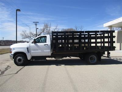 2019 Chevrolet Silverado 4500 Regular Cab DRW RWD, Link Hydraulic, Inc. Stake Bed #C191231 - photo 6