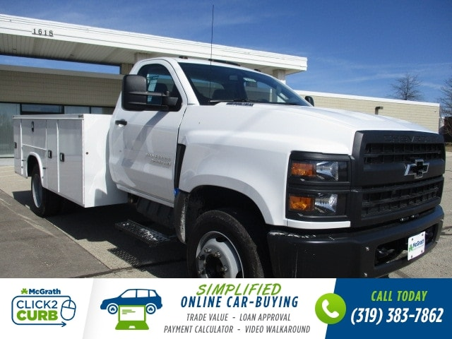 2019 Chevrolet Silverado 4500 Regular Cab DRW RWD, Knapheide Aluminum Service Body #C191566 - photo 2
