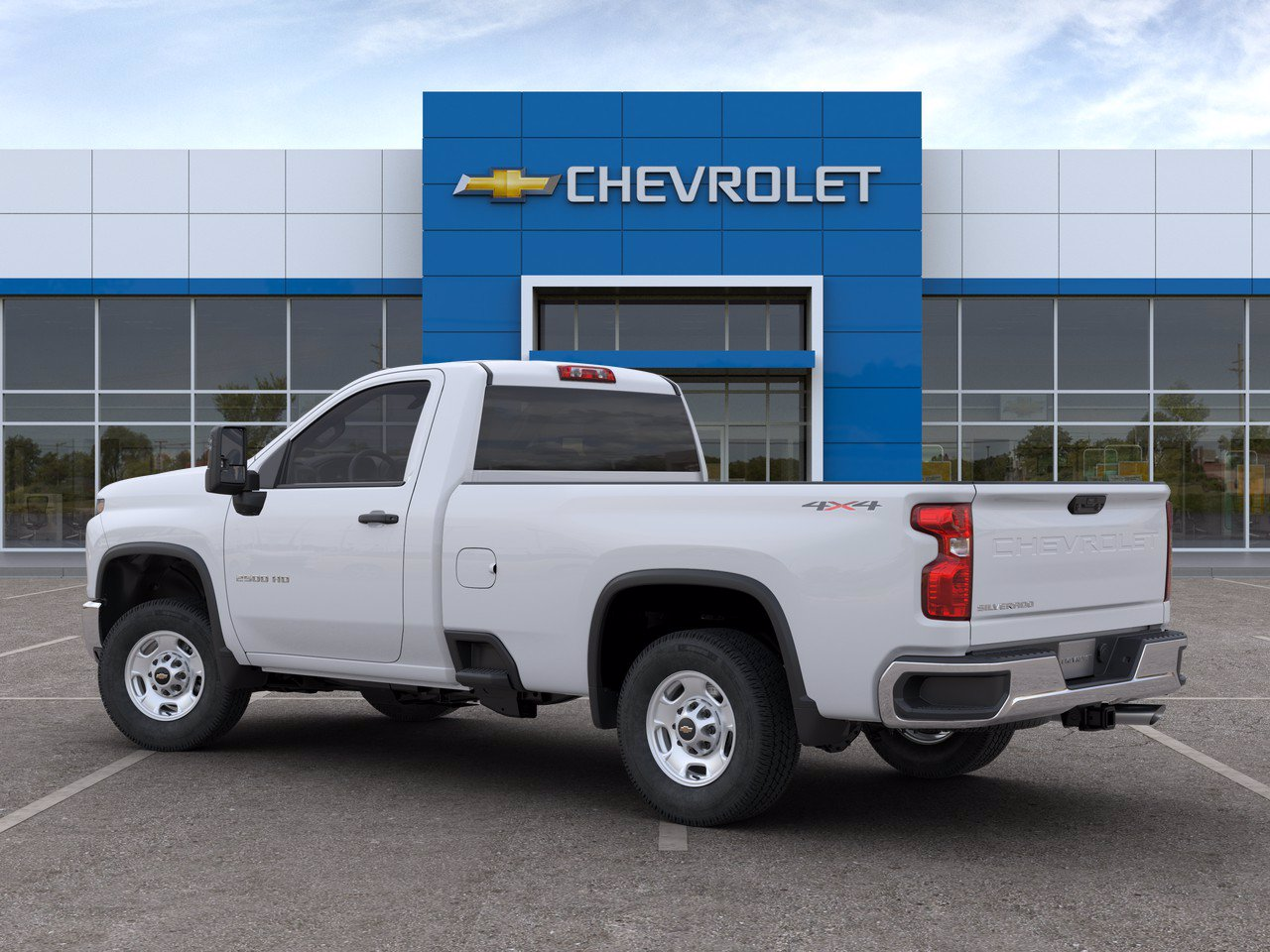 2020 Chevrolet Silverado 2500 Regular Cab 4x4, Knapheide Steel Service Body #C200933 - photo 4