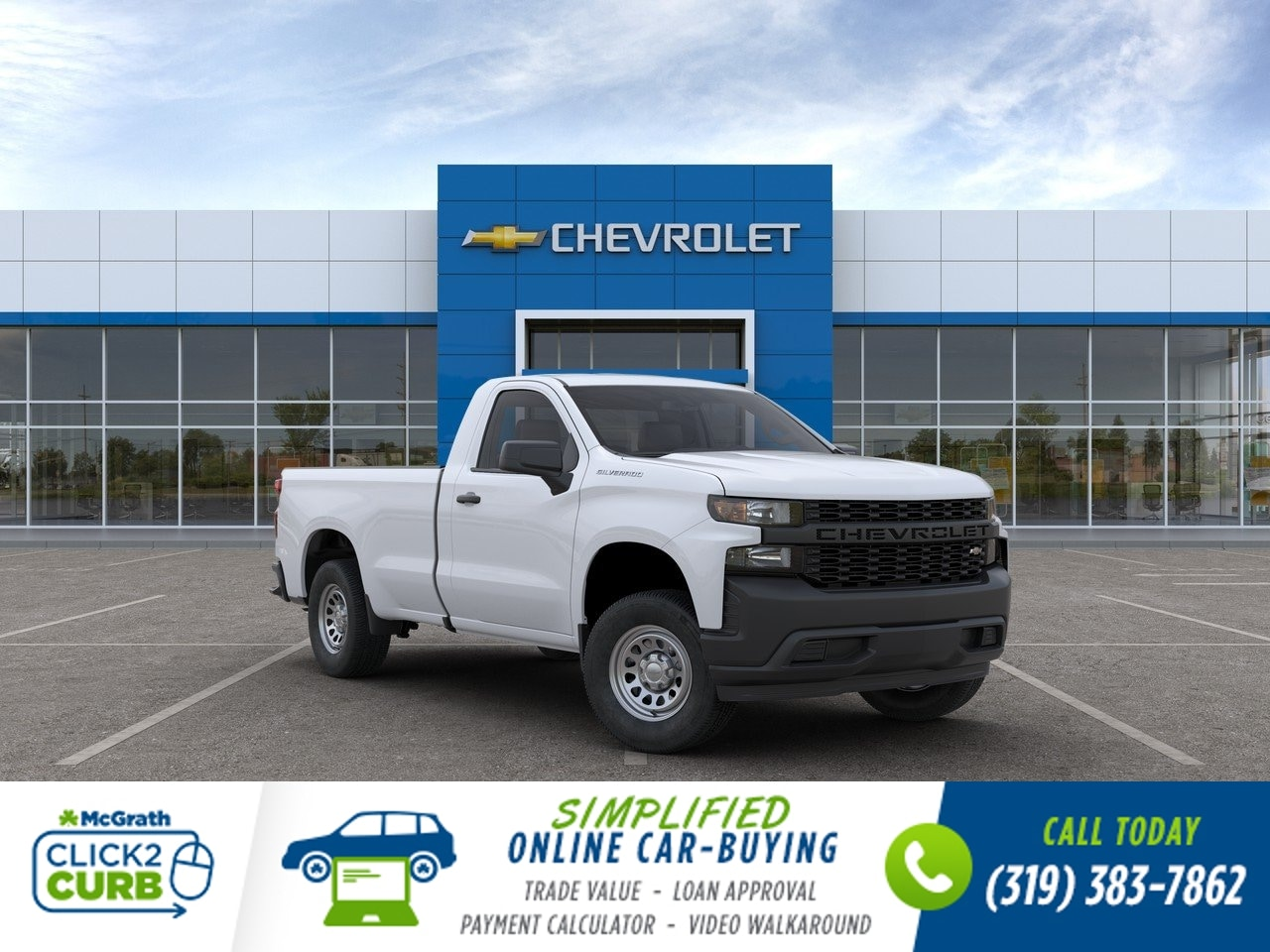 2020 Chevrolet Silverado 1500 Regular Cab 4x2, Pickup #C201040 - photo 1