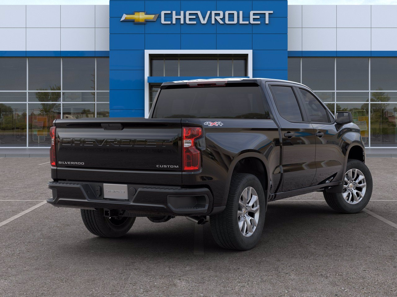 2020 Chevrolet Silverado 1500 Crew Cab 4x4, Pickup #C201392 - photo 2