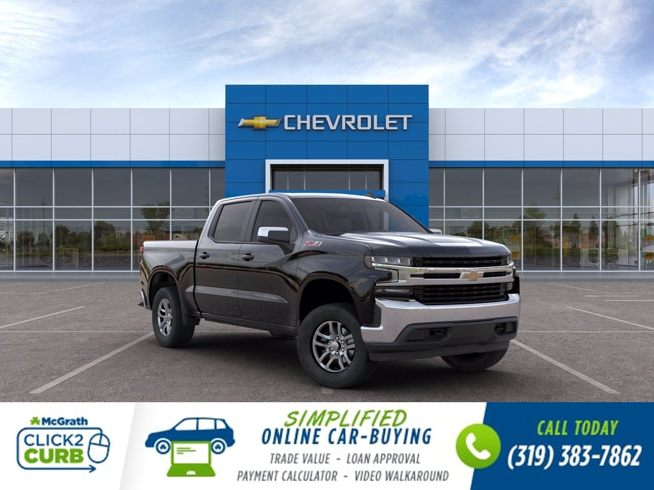 2020 Chevrolet Silverado 1500 Crew Cab 4x4, Pickup #C201411 - photo 1
