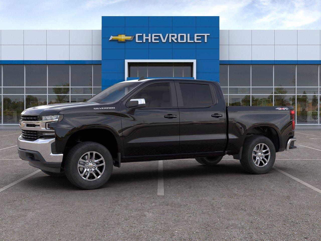 2020 Chevrolet Silverado 1500 Crew Cab 4x4, Pickup #C201419 - photo 3