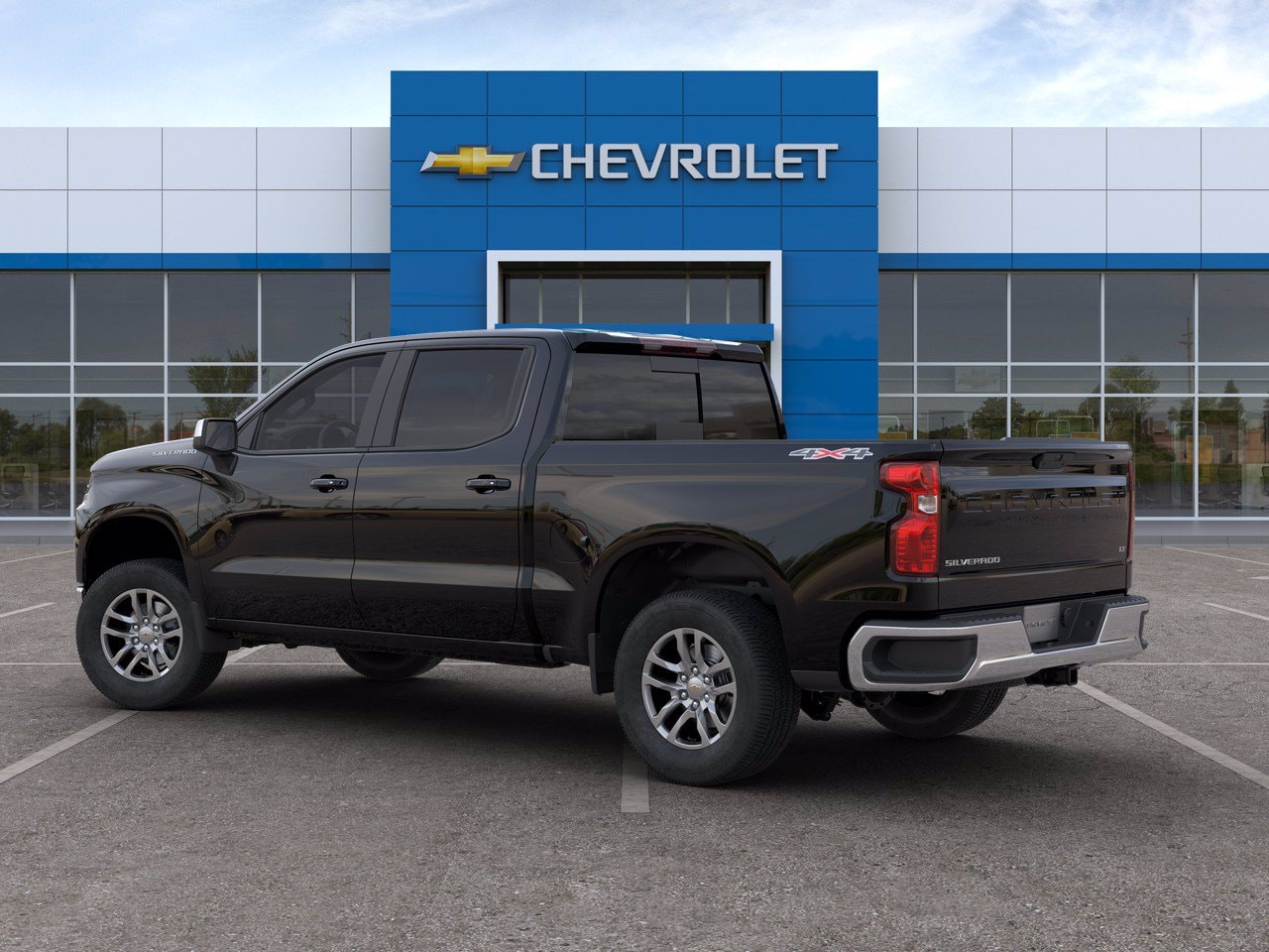 2020 Chevrolet Silverado 1500 Crew Cab 4x4, Pickup #C201419 - photo 4