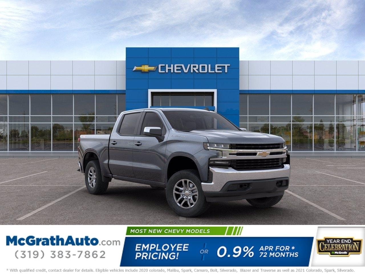2020 Chevrolet Silverado 1500 Crew Cab 4x4, Pickup #C201430 - photo 1