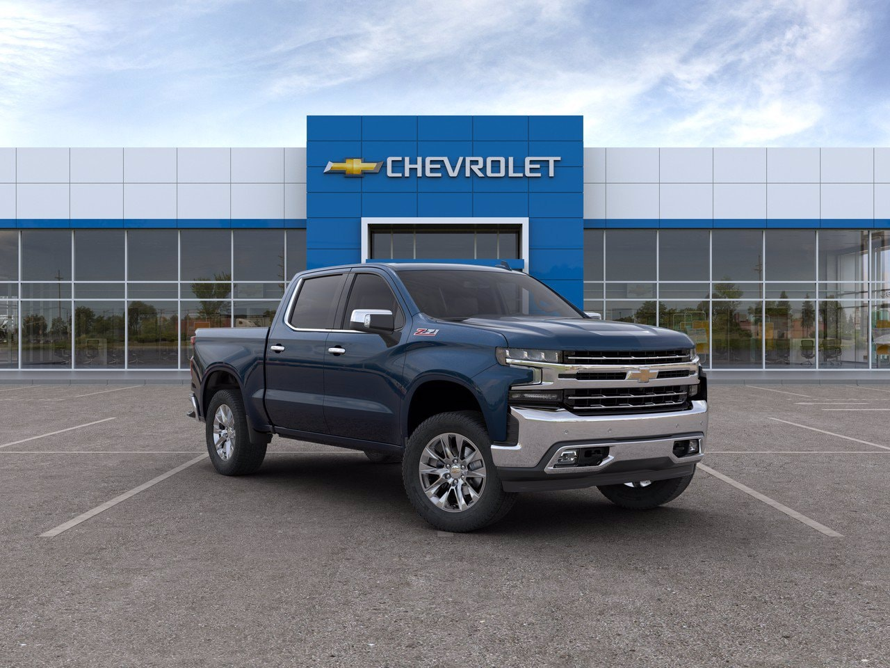 2020 Chevrolet Silverado 1500 Crew Cab 4x4, Pickup #C201434 - photo 1