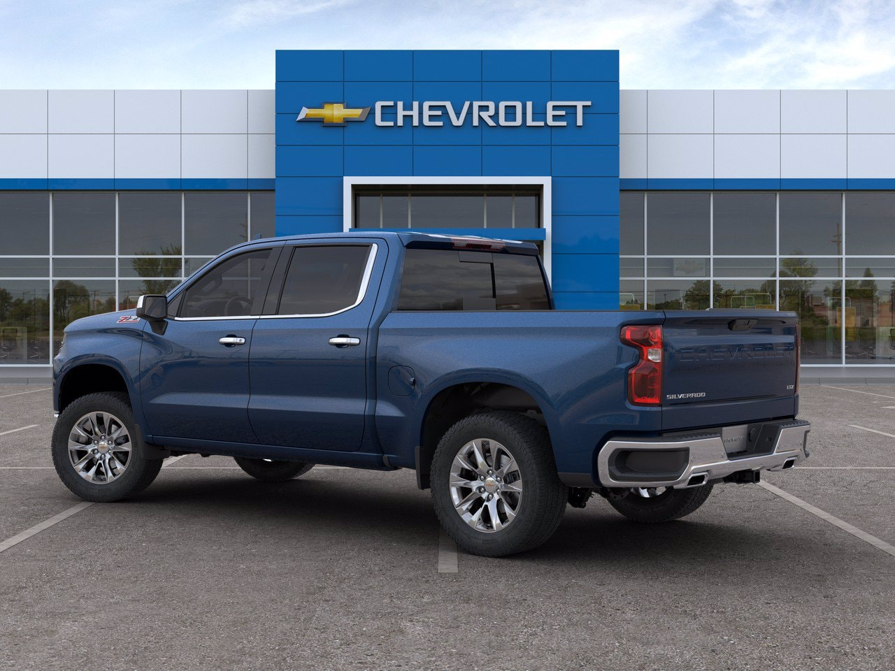 2020 Chevrolet Silverado 1500 Crew Cab 4x4, Pickup #C201434 - photo 4