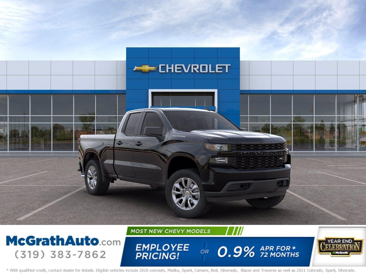 2020 Chevrolet Silverado 1500 Double Cab 4x4, Pickup #C201489 - photo 1