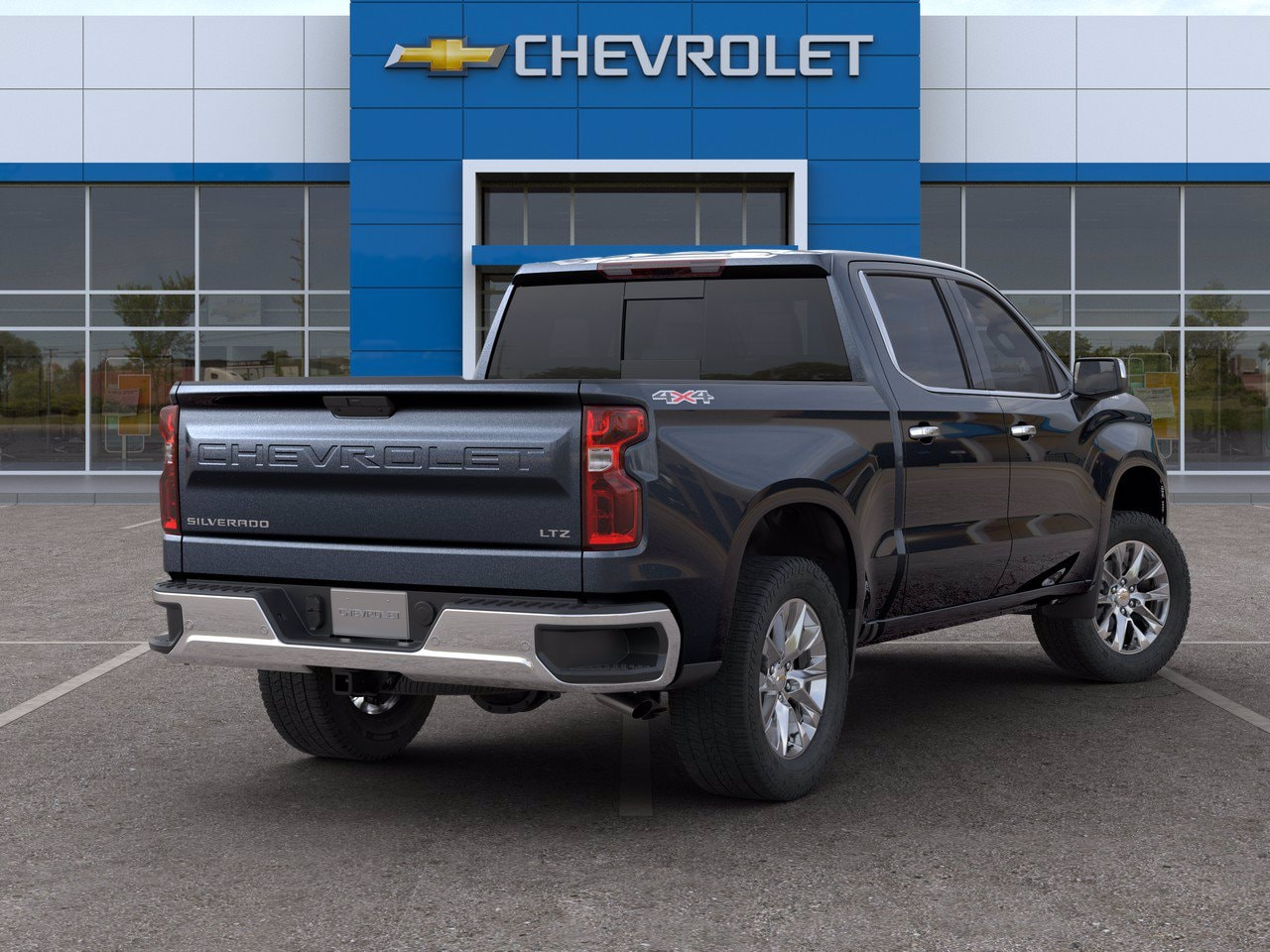 2020 Chevrolet Silverado 1500 Crew Cab 4x4, Pickup #C201490 - photo 2