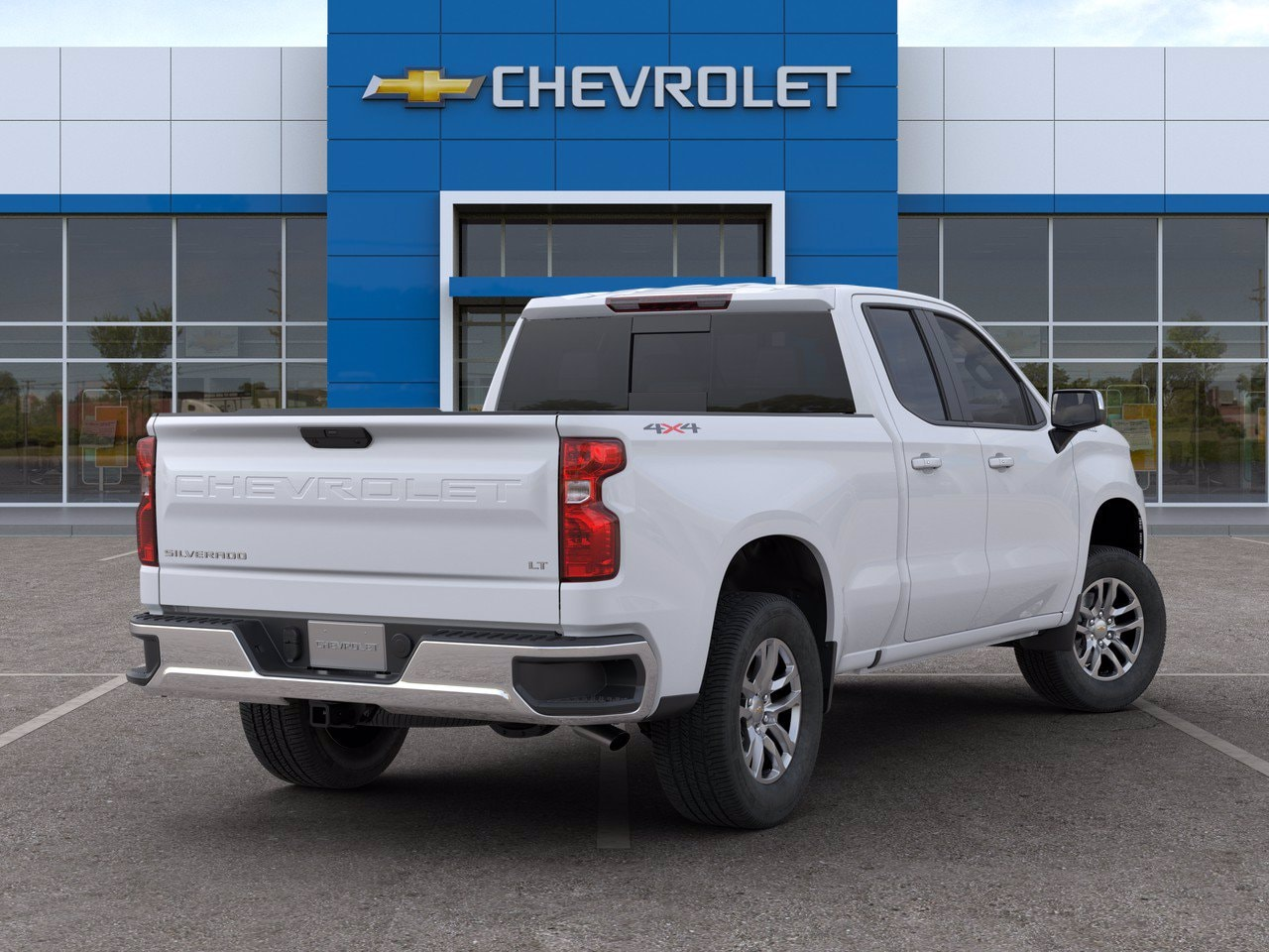 2020 Chevrolet Silverado 1500 Double Cab 4x4, Pickup #C201500 - photo 2