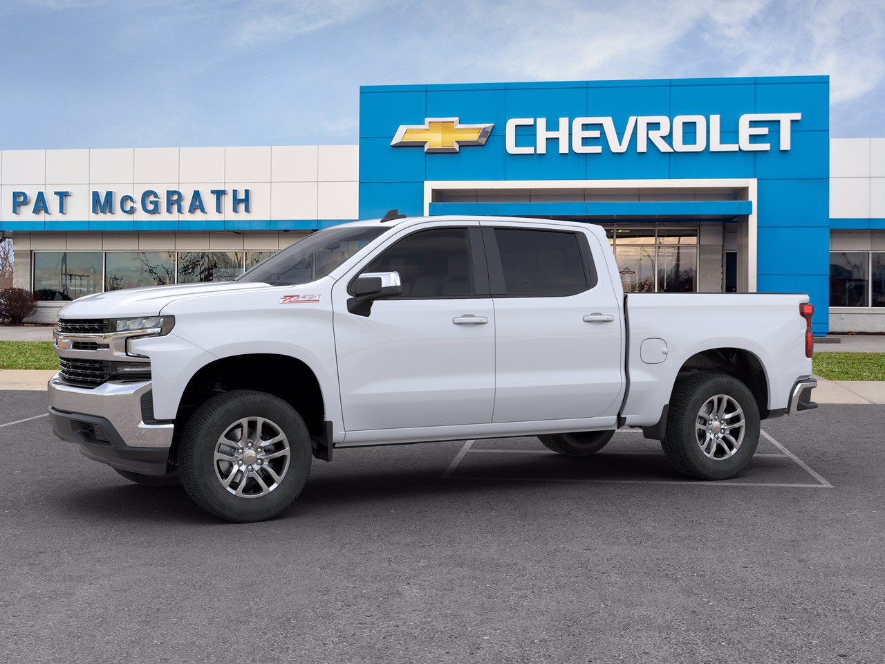 2020 Chevrolet Silverado 1500 Crew Cab 4x4, Pickup #C201509 - photo 3