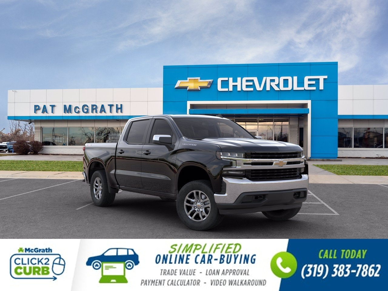 2020 Chevrolet Silverado 1500 Crew Cab 4x4, Pickup #C201522 - photo 1