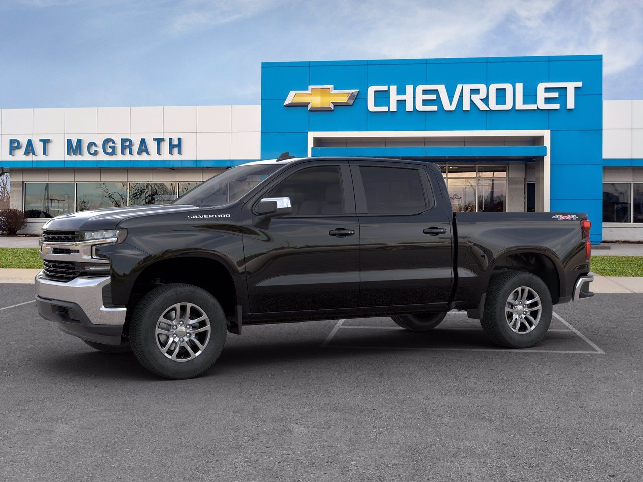 2020 Chevrolet Silverado 1500 Crew Cab 4x4, Pickup #C201522 - photo 3