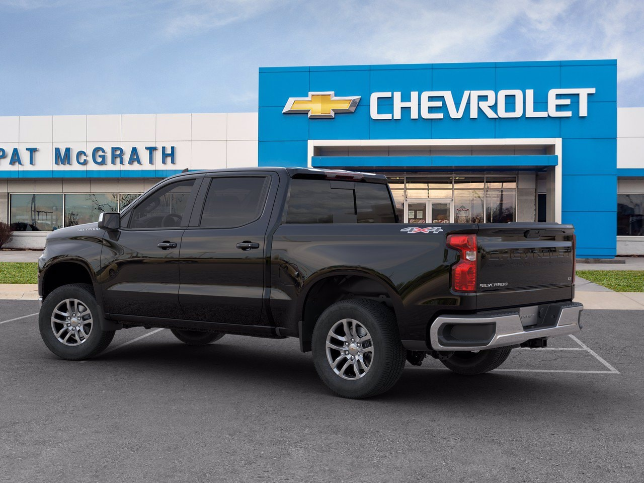 2020 Chevrolet Silverado 1500 Crew Cab 4x4, Pickup #C201522 - photo 4