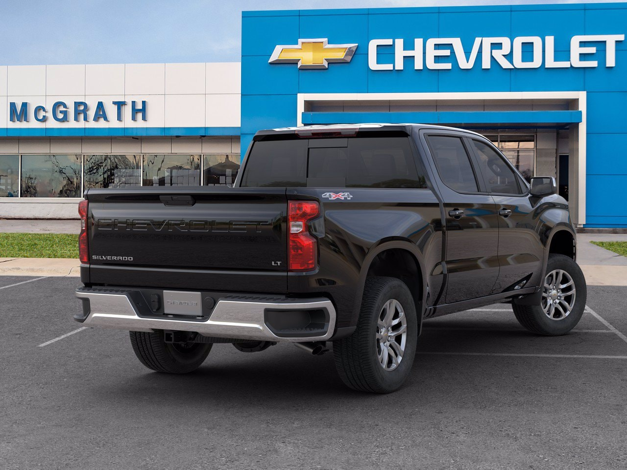2020 Chevrolet Silverado 1500 Crew Cab 4x4, Pickup #C201522 - photo 2