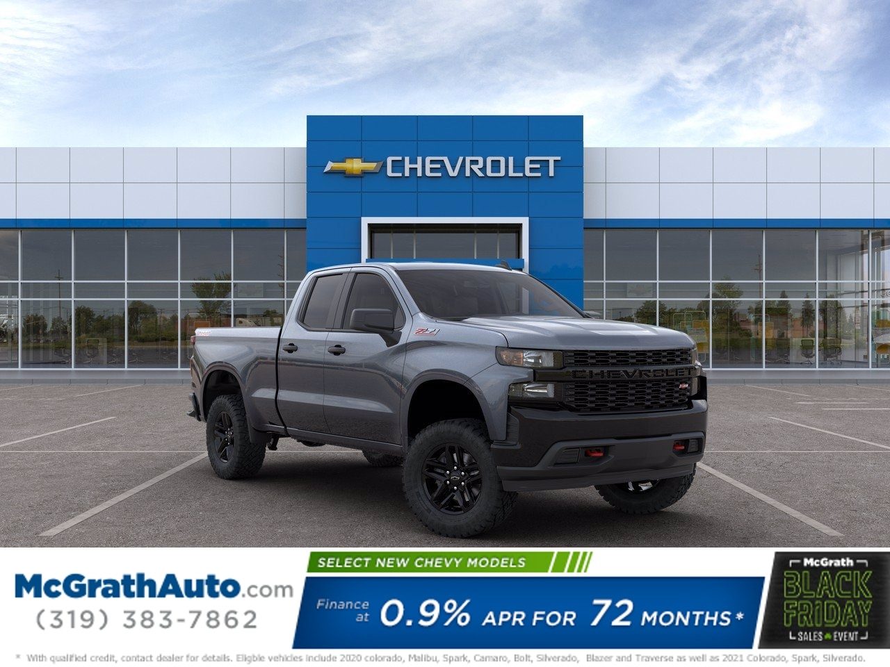 2020 Chevrolet Silverado 1500 Double Cab 4x4, Pickup #C201561 - photo 1