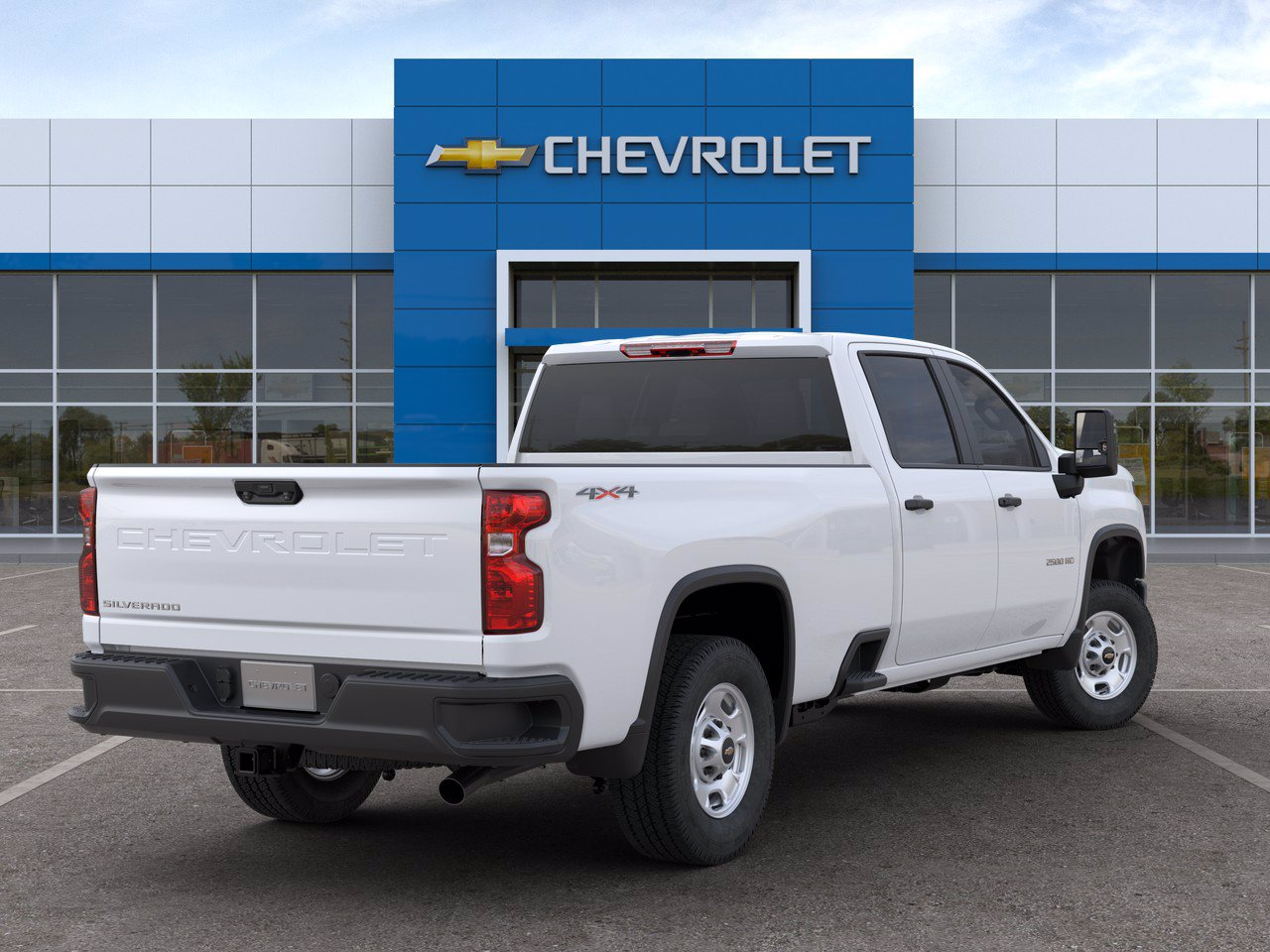 2020 Chevrolet Silverado 2500 Crew Cab 4x4, Knapheide Steel Service Body #C201564 - photo 2