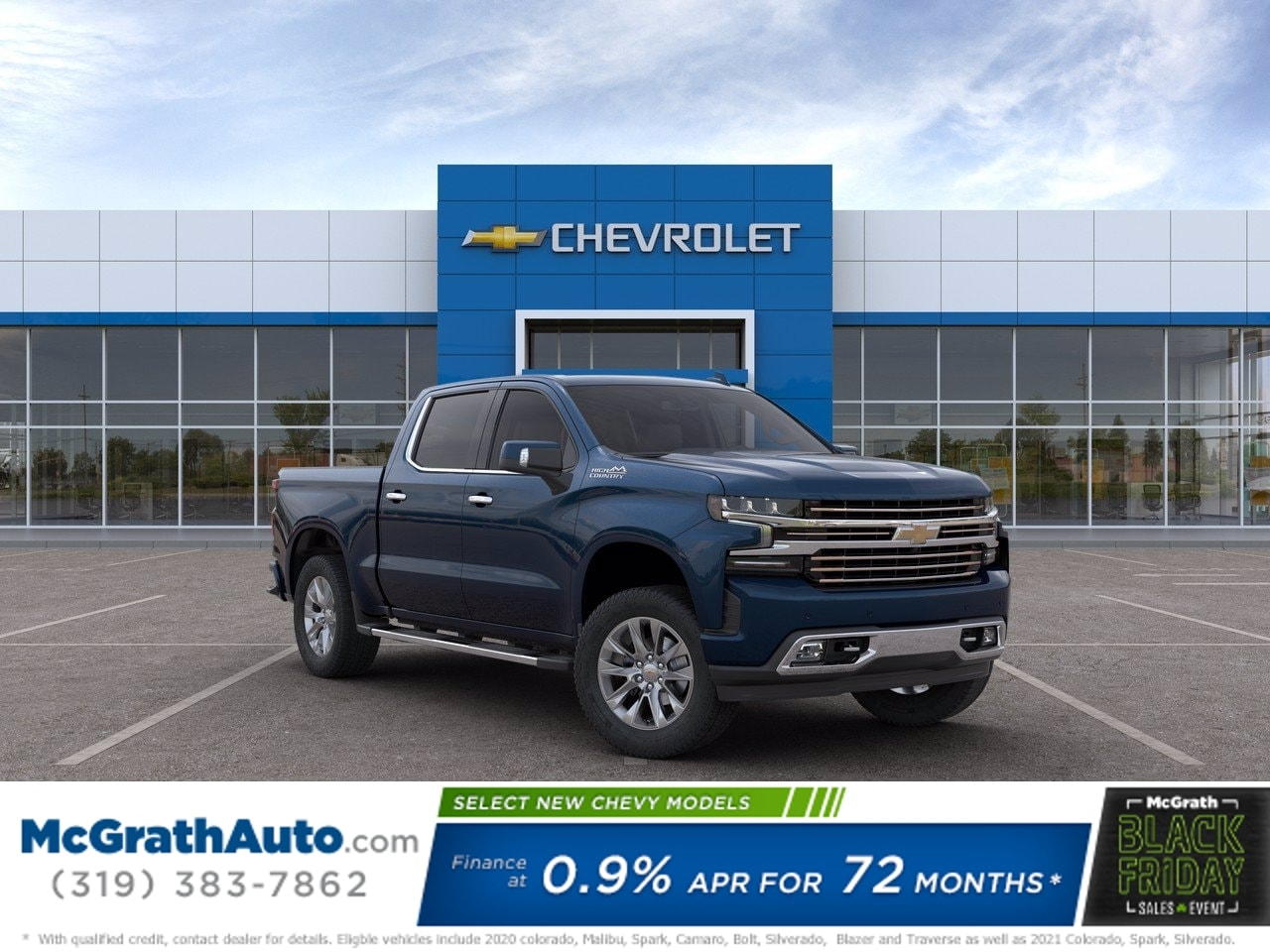 2020 Chevrolet Silverado 1500 Crew Cab 4x4, Pickup #C201648 - photo 1