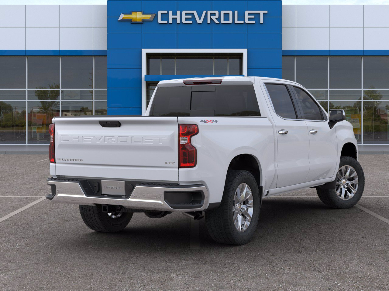 2020 Chevrolet Silverado 1500 Crew Cab 4x4, Pickup #C201706 - photo 2